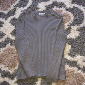 Calvin Klein Jeans sweater men's size med gray